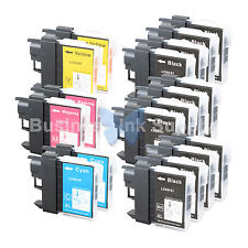 18++ PK LC61 Ink for Brother MFC-J630W MFC-J615W MFC-J415W MFC-J410W MFC-J270W