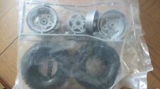 Tamiya Rough Rider Original Issue Rear Tire & Wheel Set  Vintage  MRC