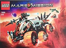 Lego MARS MISSION 'MT-101 Armored Drilling Unit' Set 7699. Complete + Parts List