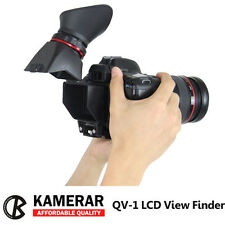 Kamerar QV-1 2.5x Universal LCD Viewfinder View Finder for Canon 5DII Nikon D800