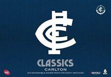 AFL Classics: Carlton NEW R4 DVD