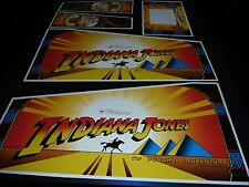 Indiana Jones Pinball Cabinet Decal