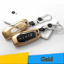 1pcs Gold Key Case Remove Key Cover Shell For Ford 13 Mondeo Mustang Edge