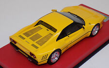 1/18 Looksmart MR Ferrari 288 GTO Giallo (Yellow) Modena Red Leather base 54/59