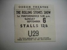 Rolling Stones ticket Leicester Odeon 06/09/64