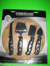 FABERWARE TRADITIONS 5 Piece Cheese Entrée Appetizer Set NEW In Factory Box NICE