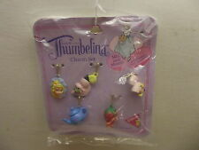 VINTAGE THUMBELINA CHARM SET BY DAKIN NEW OLD STOCK NISP