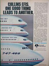 11/1986 PUB ROCKWELL COLLINS AVIONICS EFIS BOEING 757 767 747-400 737-300 AD