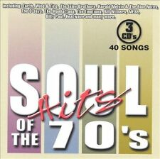 Various Artists (3-Pak)-Soul Hits Of The 70`S CD NEW