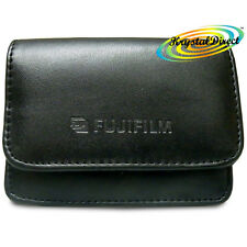 Fujifilm Soft Camera Case Black Leather For Finepix A345 A350 A360 A370 ZOOM