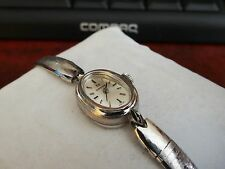 Vintage Omega 14K White Gold Filled Watch w/ 1/20 10K White Gold Band!