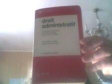 Droit administratif : La fonction publique, les biens publics, les travaux...