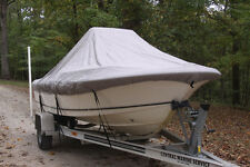 """NEW VORTEX GREY 20'6"""" CENTER CONSOLE BOAT COVER, FOR UP TO 54"""" TALL CONSOLE"""