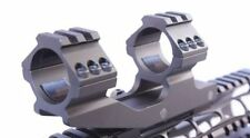 """1"""" inch Tactical  Dual Ring Cantilever Scope Mount Picatinny PEPR BLACK"""