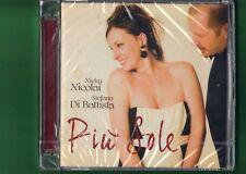 NICKY NICOLAI STEFANO DI BATTISTA-PIU' SOLE CD NUOVO SIGILLATO