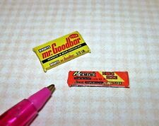 Miniature King Size Loose Candy Bars, Set of 2: DOLLHOUSE 1/12 Scale