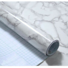Granite Marble Effect Contact Wall Paper Self-Adhesive Wall Sticker Rolling HOT