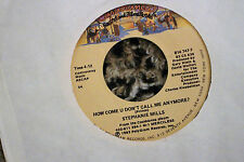 Stephanie Mills  How Come U Don't Call Me Anymore? Prince cover 45 rpm VG+