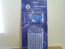 Chelsea Football Club 24 PARTY CANDELE TORTA CON titolari.. prodotto ufficiale
