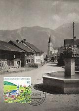 Liechtenstein FDC Ersttagsbrief Karte 1999 300 Jahre Liechtenstein Mi.1197