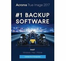 Acronis True Image 2017 - 5 Devices System Backup for Windows PC/Mac/iOS/Android