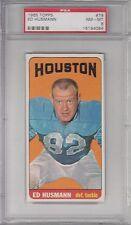 1965 TOPPS FOOTBALL #79 ED HUSMANN PSA 8