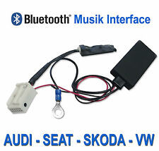 Bluetooth MP3 AUX Radio Adapter Empfänger für VW Polo 6R Jetta Fox EOS Up
