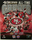 San Francisco 49ers All-Time Greats Photo Montana Rice Young Tittle Lott Clark