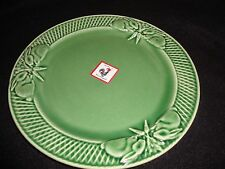BORDALLO~GREEN BUNNY RABBIT~SALAD PLATE~NEW~