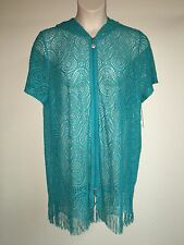 Catherines Bungalow Mesh Swim Cover Up 14/16 Womens Plus Size 0X NWT $64