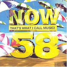 Now That's What I Call Music 58 2 Disc CD FREE SHIPPING