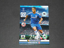 EDEN HAZARD BELGIË CHELSEA BLUES UEFA PANINI FOOTBALL CHAMPIONS LEAGUE 2014 2015