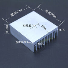 Aluminum Heat Sink Heatsink Radiator With M3 Hole For TO3P/220/247 50*45*18mm