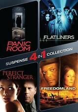 Panic Room/Flatliners/Perfect Stranger/Freedomland (DVD, 2015, 2-Disc Set)