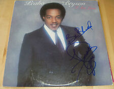 Peabo Bryson Authentic Signed Record Album Vinyl LP Autographed