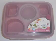 Bento Lunch Box Container for Kids and Adults Partioned Includes Handy Spoon