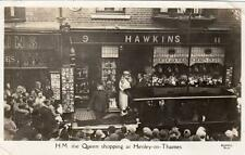 Queen Shopping Henley on Thames Hawkins Shopfront Shop unused RP old pc Bushell