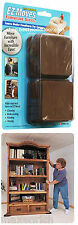 EZ Moves Furniture Slides for Carpet 4pc 3in.x3in.,Free Shipping!