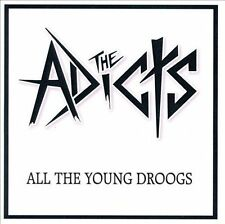 NEW All The Young Droogs by The Adicts CD (CD) Free P&H