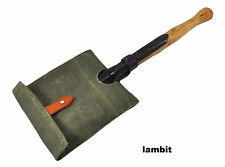 Vintage original shovel from Polish army with cover - UNUSED