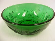 Anchor Hocking Forest Green Sandwich Berry Bowl