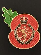 Womens Royal Army Corps (WRAC) Remembrance Poppy Pin
