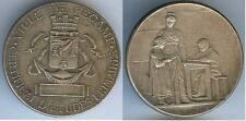 Médaille de table - FECAMP 1901 certificat d'études pimaires LESIEN Augustin