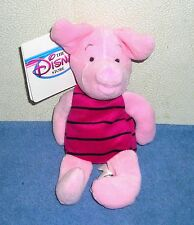 "DISNEY STORE EXCLUSIVE WINNIE THE POOH PIGLET 8"" PLUSH BEAN BAG TOY"