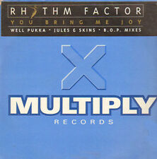 RHYTHM FACTOR - You Bring Me Joy (Jules & Skins, B.O.P Mixes) - Multiply