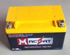 Motorcycle Battery Supercapacitor For 250-750 CC 150 CCA Will Out Last Your Bike