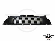 BMW mini one / cooper essence en plastique noir en nid d'abeille bonnet grill R55 R56 R57
