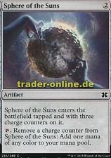 4x Sphere of the Suns (Sphäre der Sonnen) Modern Masters 2015 Magic