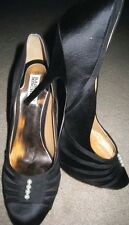 BADGLEY MISCHKA OPHELIA BLACK PLATFORM PUMP SZ 9.5-NIB