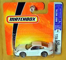 Matchbox Porsche 911 GT3 [Rare White] - New/Sealed/RARE